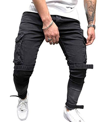 Mens Slim Fit Single One Button Blazer Jackets (Khaki,US Large/Label 4X-Large)