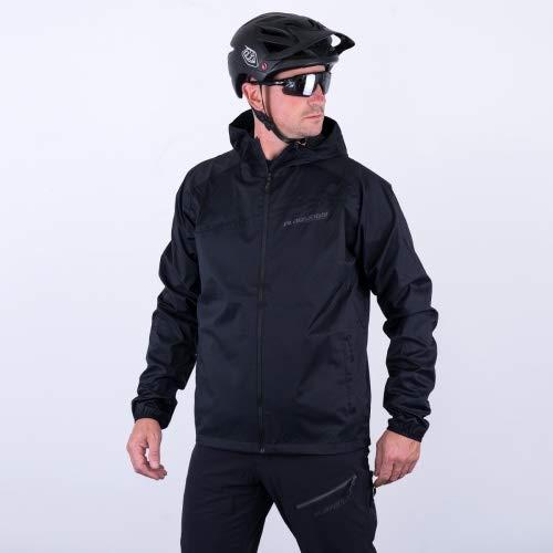 platzangst Herren Regenjacke DFL Jacket II schwarz Farbe schwarz, Größe L