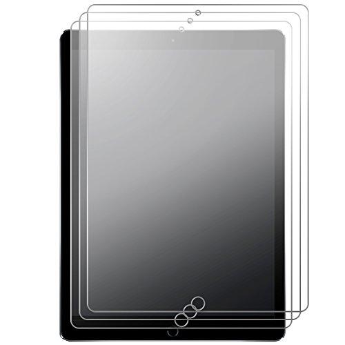 J&D Kompatibel für 3er Packung New iPad Pro 12.9in 2017 Displayschutzfolie, [Antireflektierend] [Nicht Ganze Deckung] Matte Folie Schutzschild Displayschutzfolie für New iPad Pro 12.9 inch 2017