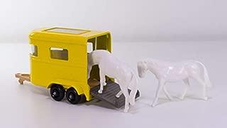 Matchbox 1968 Regular Wheels Pony Trailer w/2 Horses MB43