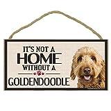 Imagine This Wood Sign for Goldendoodle Dog Breeds