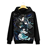 WWZY Unisex 3D Black Butler Printed Casual Black Butler Jumpers SebastianMichaelis Brina Palencia Graphic Pullover Tops Long Sleeve Hoodies Or Crewneck Sweatshirts for Men and Women,XXXXL