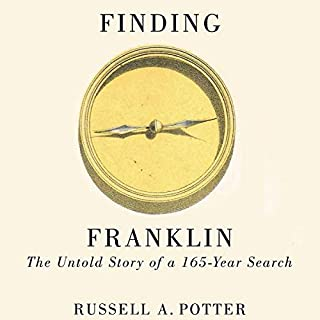 Finding Franklin audiobook cover art