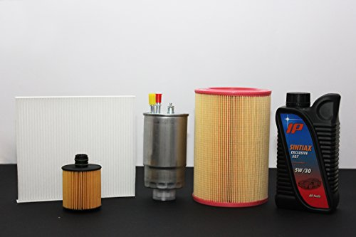Filtersnijder + 5 liter olie