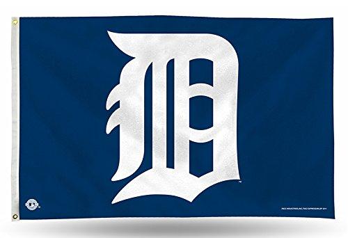 Rico Industries FGB4303 MLB Detroit Tigers 90 x 150 cm Banner Flagge
