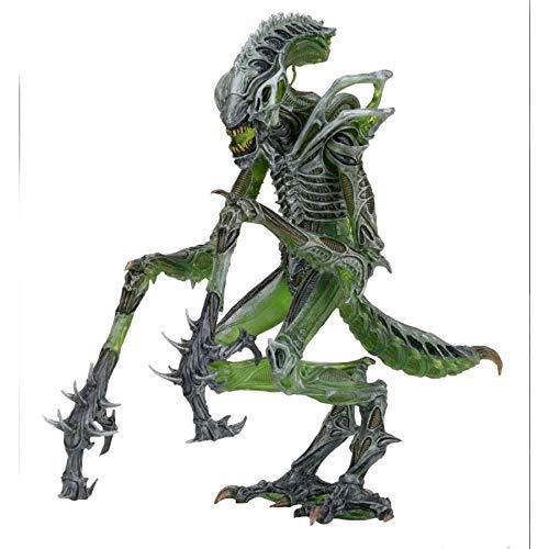 ZHIPENG Decoración de Escritorio La Figura de acción Extranjeros Escala Serie Mantis Gusanos Extranjeros 7 Pulgadas en Forma de muñeca móvil Conjunta (Color : Mantis Aliens)