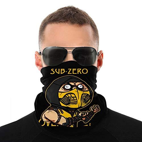 Ninja Meme Sub Zero Mortal Kombat Kopftuch Fahrrad Magic Headwear Hals Gaiter Gesicht Bandana Schal