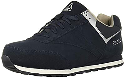 Reebok Work Men's Leelap RB1975 Safety Shoe,Blue,11 M US
