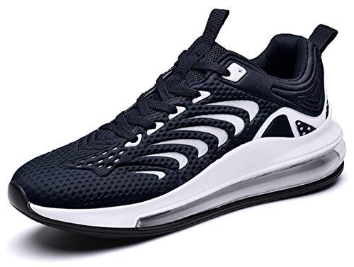 QJRRX Zapatillas de Running Hombre Mujer Air Correr Deportes Calzado Verano Comodos Zapatillas Sport 36-47