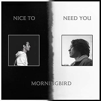 Nice to Need You
