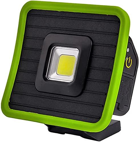 Mufeal Portátil y liviana COB CAMPING Tienda de campaña luz USB Foco recargable Foco impermeable impermeable Illuminal para el aire libre para cortes de energía, emergencia doméstica, Camping, Senderi