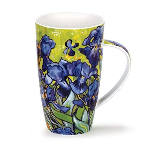 DUNOON Henley Impressionists Irises - Becher Tassen Dunoon