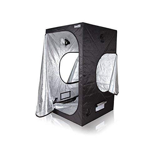 Growzelt Dark Box Serie Markenhersteller Growbox Growtent Grow verschied. Größen (120 x 120 x 200cm)