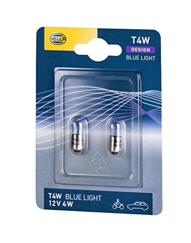 HELLA 8GP 002 067-013 Glühlampe - T4W - 12V/4W