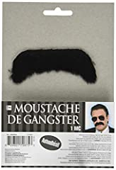 Package Includes: 1 Moustache Great for fun and wacky entertainment, masquerade parties or stage perfomances This moustache can fit on most teens and adults This features a thick black synthetic moustache The shades are not included It is self-adhesi...