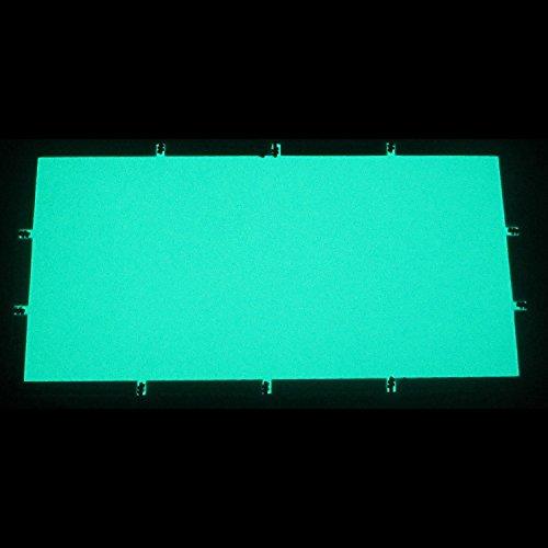 EL-Folie/Leuchtfolie/Plasmafolie Farbe: GRÜN Größe: 200x100mm inkl. Zubehör