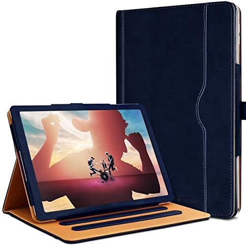 Karylax - Funda de protección y modo soporte para tablet Yotopt 4G LTE de 10 pulgadas (R01-azul oscuro)