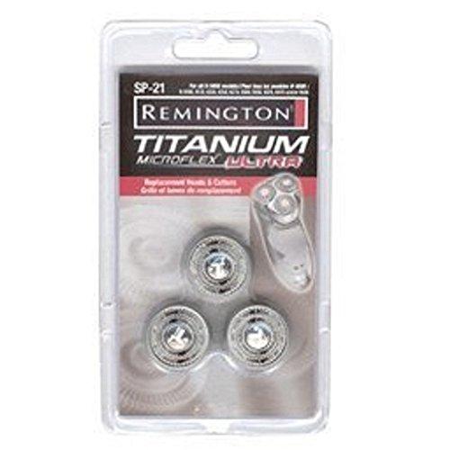 Remington SP-21 Titanium Microflex Replacement Heads for Models R9170, R9270, R9290, R9370, R-9400, R9500, R9100, R9200, R9250, R9300, R9350, R9190, R9250, R9390, R9410, R9470, RTCT