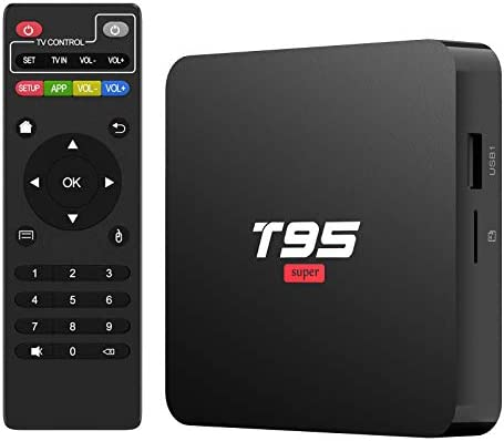 Android 10 0 TV Box T95Super Android TV Box Quad Core CPU 2GB RAM 16GB ROM Media Player Support product image