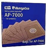 Orbegozo 15262 Paquete de 10 Bolsa Ap 7000, Negro