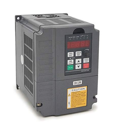 Vektorregelung Computerized Numerical Control (CNC) Frequenzumrichter (VFD) der Motor Inverter Konverter 220V 2.2KW 3PS für Spindelmotor Kontrolle der Geschwindigkeit Huanyang GT–Serie