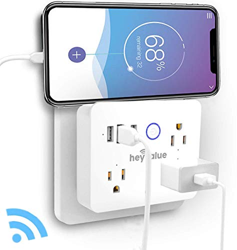 Smart Plug, Wifi Surge Protector, Voice Control with Alexa & Google Home,...