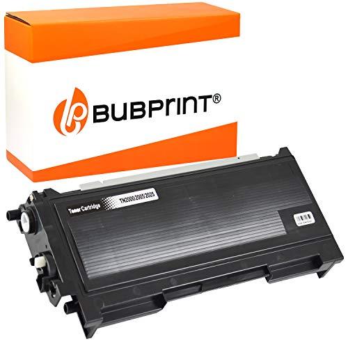 Bubprint Toner kompatibel für Brother TN-2000 für DCP-7010 DCP-7010L DCP-7025 HL-2020 HL-2030 HL-2040 HL-2070N MFC-7225N MFC-7420 MFC-7820 MFC-7820N Fax 2820 2920 Schwarz