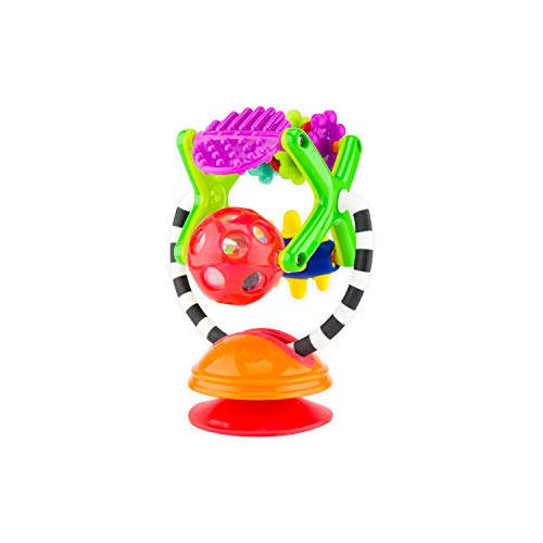 Sassy Teethe & Twirl Sensation Station 2-in-1 Suction Cup High