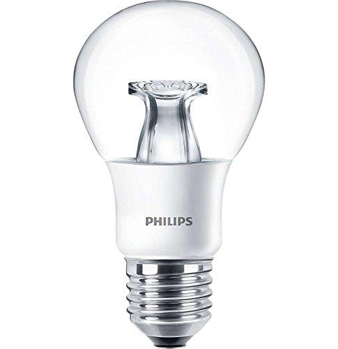 Philips corePro lEDbulb transparent lampe lED 6 w/827–culot e27 à intensité variable blanc chaud