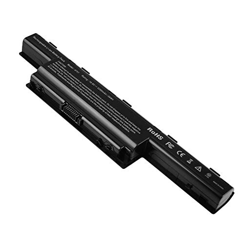 YNYNEW Replacement Laptop Battery for Acer Aspire NEW70 NEW80 NEW90 NEW75 PSWE0 P5WE6 PEW51 PEW71 PEW72 PEW76 P7YE0 ZQ3 ZQ5A Series AK.006BT.075 AK.006BT.080 AS10D31 AS10D41