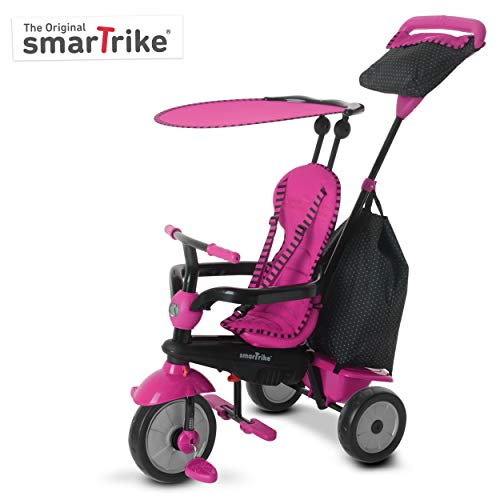 smarTrike 6951500 - Glow Touch Steering 4-in-1 driewieler roze