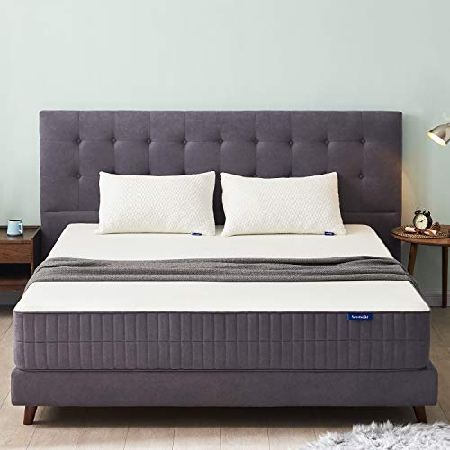 Sweetnight Full Size Mattress,10 Inch Full Mattress in a Box-Gel Memory Foam Mattress/Flippable Bed Mattresses for Pressure Relief & Cool Sleep,Two Firmness Level Choice