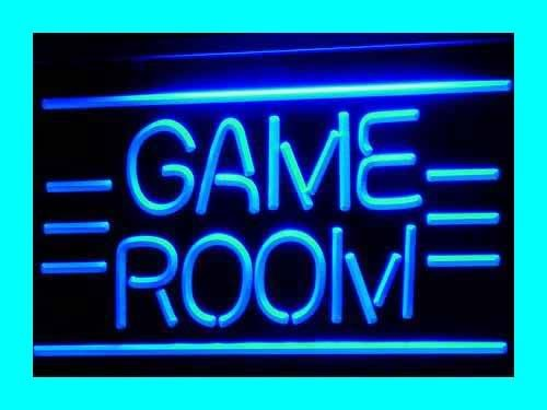 ADVPRO Cartel Luminoso i338-b Game Room Displays Toys TV Neon Light Sign