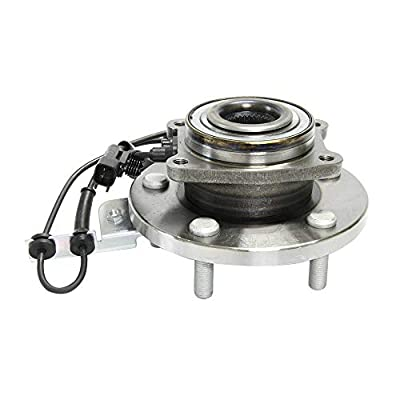 Apeixoto 513273 Front Wheel Hub Bearing Assembly Compatible with Chrysl Town Country Dodge Ram Grand Caravan VW Routan with ABS 5 Lugs