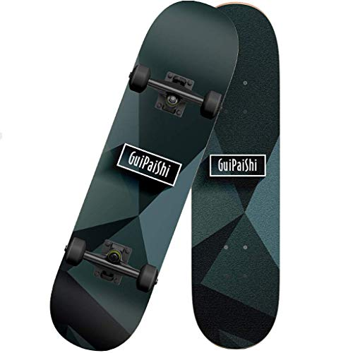 Read About Skateboards for Kids, 31 x 8 inch Complete PRO Skateboards for Kids, Double Kick 7 Layer ...