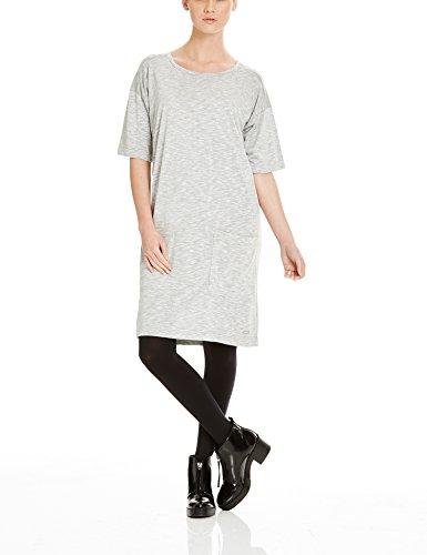 Bench Damen EXPERTISM Kleid, Grau (Mid Grey Marl GY001X), 36 (Herstellergröße: S)