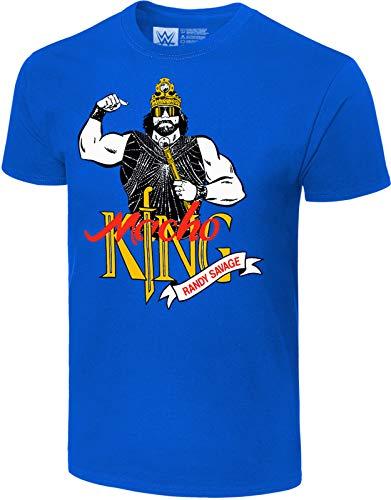 Macho Man Randy Savage WWE Macho King Official Authentic Retro T-Shirt L