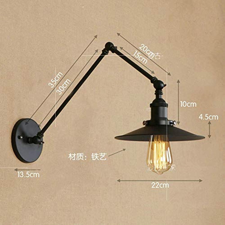 Dekorative Wandlampe aus Schmiedeeisentreppenhaus Handwerkerwerkstatt, A3