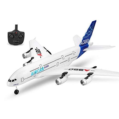 DBXMFZW 3 Canales Control Remoto Avión de 6 Ejes Gyroscopio RC Airplane EPP Foam RC Jet 2.4G RC Wireless RC Modelo de avión Regalos para niños y niñas Principiantes