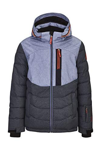 Killtec Jungen Eloi Jr Skijacke/Funktionsjacke Mit Abzippbarer Kapuze Und Schneefang, Wassersäule 10000 Mm, Dunkel Denim, 176