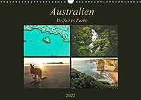 Australien - Farbige VielfaltCH-Version (Wandkalender 2022 DIN A3 quer): Einzigartige Landschaften eines einzigartigen Kontinents (Monatskalender, 14 Seiten )