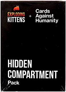 Exploding Kittens + Cards Against Humanity Hidden Compartment Pack