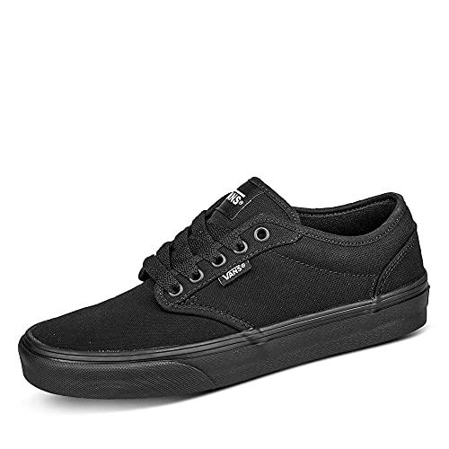 VANS Atwood, Sneaker Uomo, Canvas Black/Black Tuy_187, 44 EU
