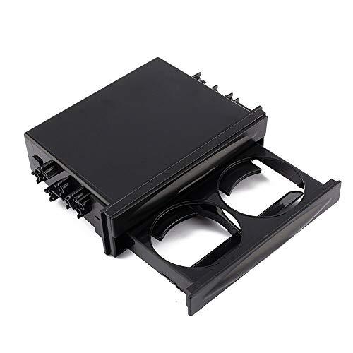 Esenlong Portavasos Y Caja de Almacenamiento para Bebidas de Bolsillo con Radio de Doble Din Automático para Automóvil Universal ( 175X25x45mm )