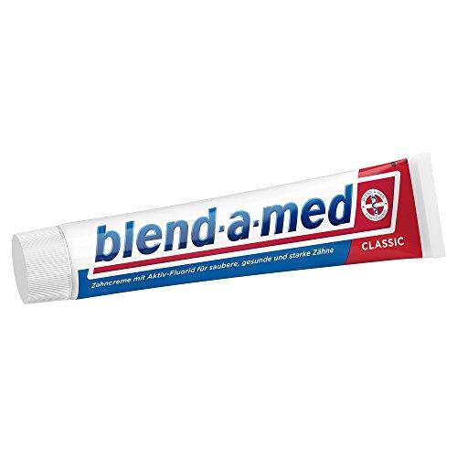 Bester der welt Amed Classic Zahnpasta 75 ml, 12 Packungen (12 x 75 ml) mischen