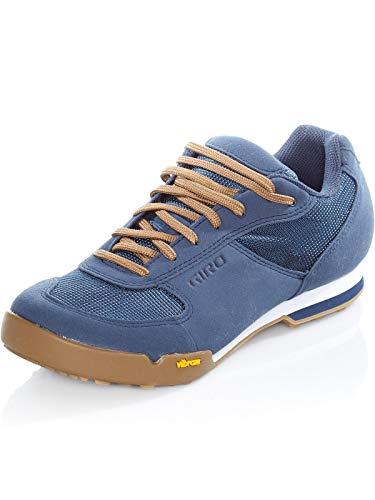 Giro Rumble VR Mens Mountain Cycling Shoe − 45, Dress Blue/Gum (2020)