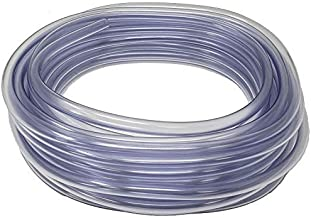 Sealproof 1/2-Inch ID x 5/8-Inch OD, Food Grade Unreinforced PVC Clear Vinyl Tubing, 50 FT