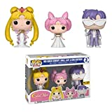 Funko Pop Animation : Sailor Moon - Neo Queen Serenity,Small Lady & King Endymion (MoonExclusive) 3....