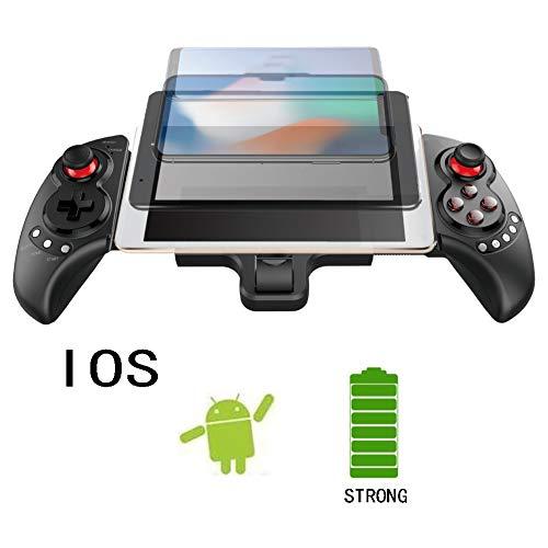 Zero starting point Controller Digital Pocket, Gamepad Movil Cable Digital, Joysticks Inalambrico, Controlador De Diseño Ergonómico Mejorado, Game Controller Box, Función Telescópica 280Mm,Negro