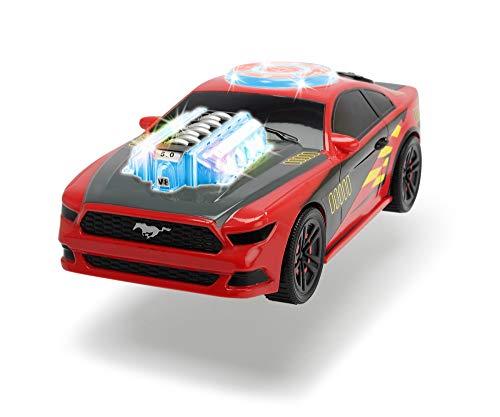 Dickie Toys 203764003 Music Racer Spielzeugauto mit Motor, Licht- und Soundfunktion